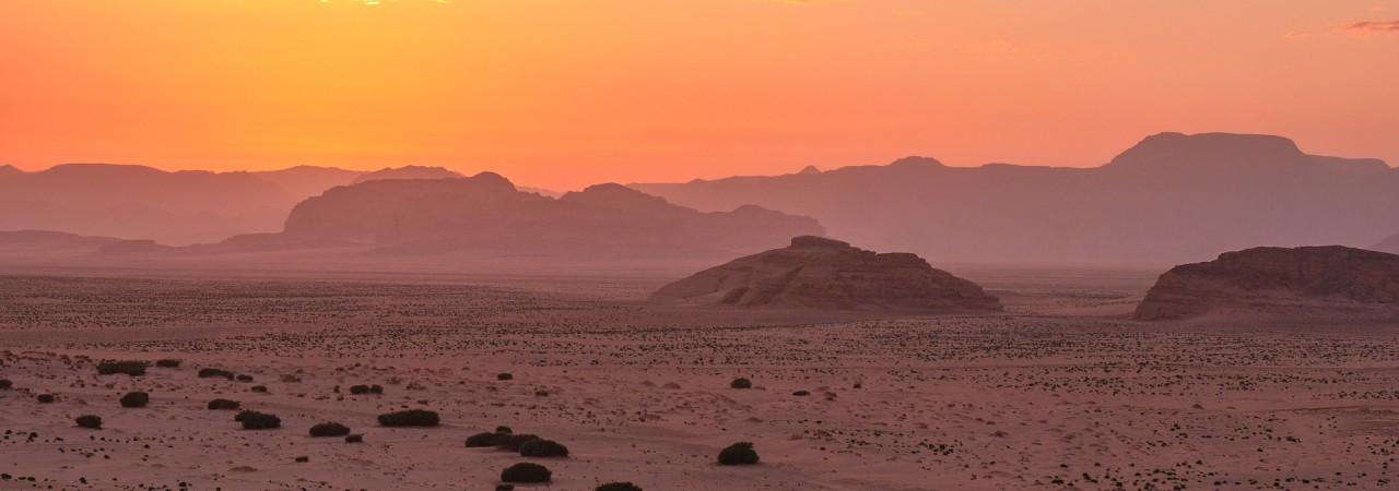 Bild: Berge Wüste
